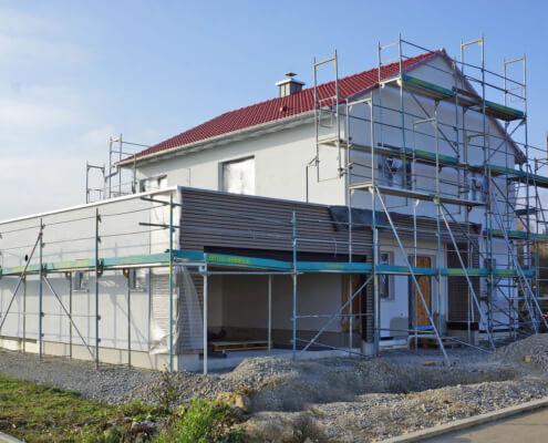 Einfamilienhaus mit Garage in Blaufelden