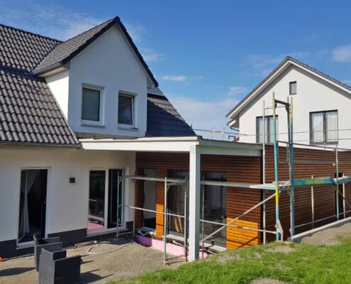 Anbau an ein bestehendes Einfamilienhaus in Dietersheim