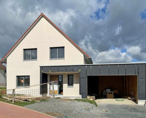 Einfamilienhaus mit Garage in Werneck