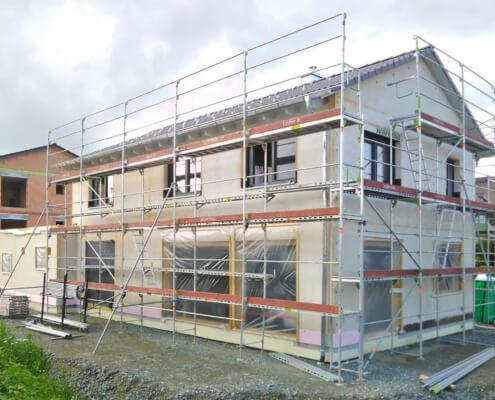 Einfamilienhaus mit Doppelgarage in Wiesau