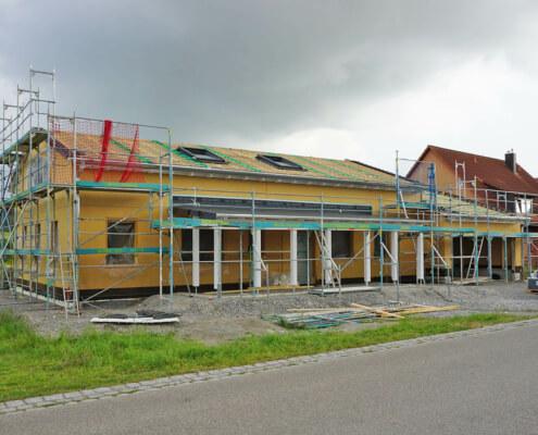 Einfamilienhaus mit Doppelgarage in Schweinsdorf