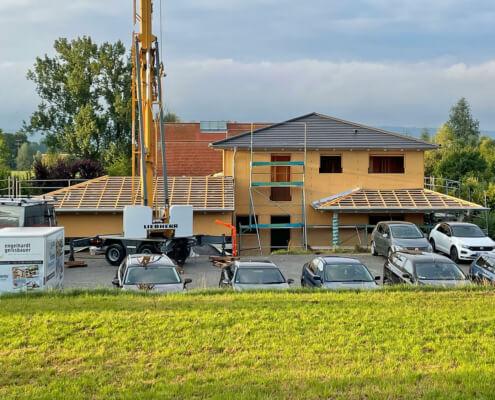 Einfamilienhaus mit Doppelgarage in Schwebheim