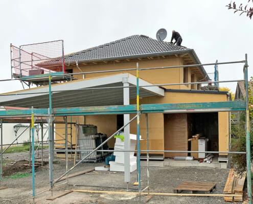 Einfamilienhaus mit Garage und Carport in Ipsheim